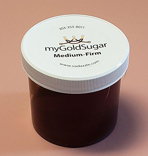 16oz My Gold Sugar - Sugaring for Hair Removal (Medium-Firm)
