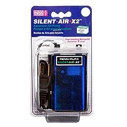 Penn-Plax Fish & Aquatic Supplies Silent-Air Pump For 20 Gallon Aquariums