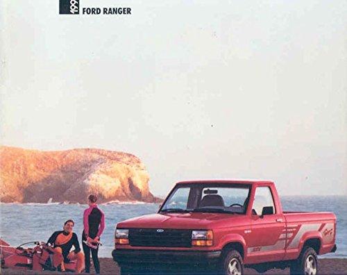 1991 Ford Ranger Pickup Truck Brochure