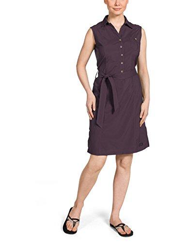 Jack Wolfskin Damen Kleid Sonora Dress, Grapevine, M, 1400501-2042003