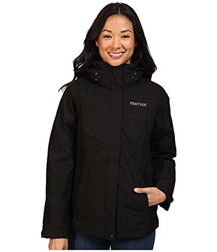 (マーモット)Marmot レディースコートジャケットアウター Regina Jacket [並行輸入品] B071JLPZVD L|ブラック ブラック L