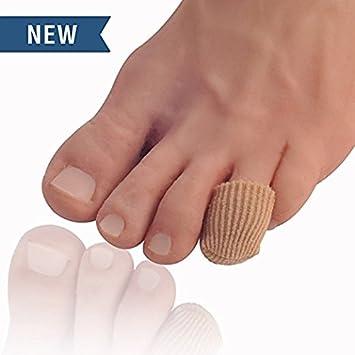 Dr. Frederick's Original Separatori in tessuto - protezioni per le dita dei piedi - tubo per dita (Grande) Frederick Medical Supply EU