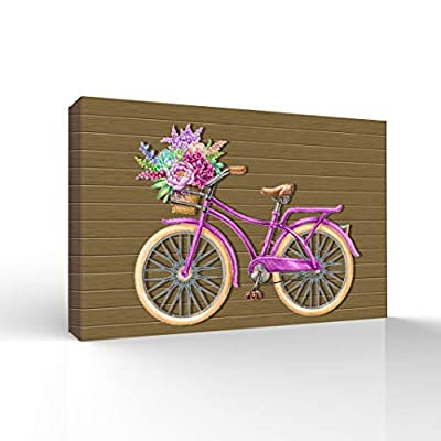 Incredible Print, it is good, Bicycle Painting Wall Bedroom Living House