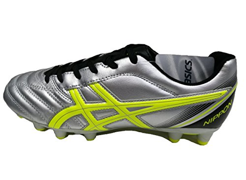 Unisex 9309 Blk Silver Asics Shoes Nippon Adults' Yellow Cs Footbal Flash Multicolour HxvqPdF