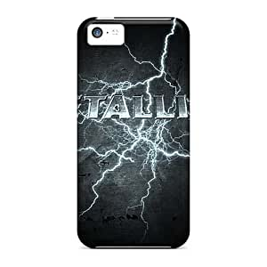 Shockproof Cell-phone Hard Covers For Iphone 5c With Support Your Personal Customized HD Metallica Image CharlesPoirier