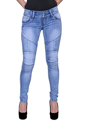 Mujer Tubo Jeans con Seafolly Azul