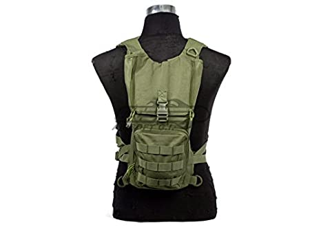 4550e3e7b3f Lancer Tactical Light Weight Hydration Backpack (OD Green)