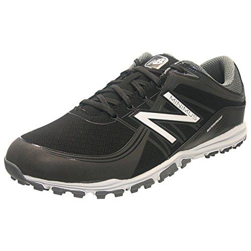 Pictures of New Balance Men's Minimus Golf Shoe Black 10 D US NBG1005BK 3