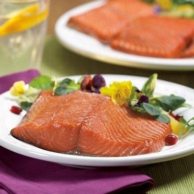 Wild Alaskan Sockeye Salmon: 6 Oz Dinner Fillets