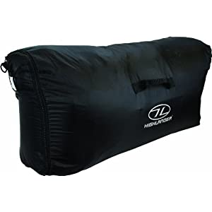 41aPa veypL. SS300  - Highlander Waterproof  Unisex Outdoor Travel Rucksack Transit Cover available in Black - One Size