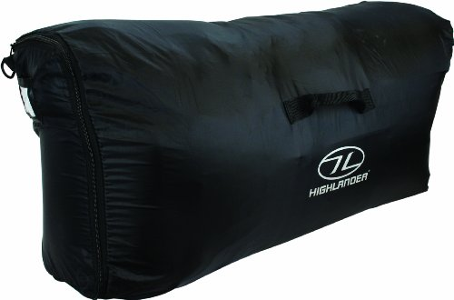 Highlander Waterproof  Unisex Outdoor Travel Rucksack Transit Cover available in Black - One Size