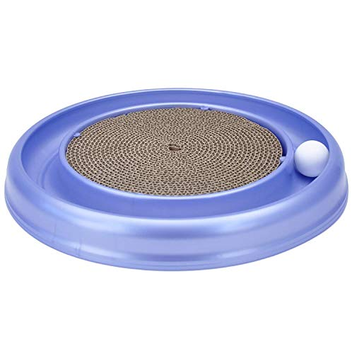 (Bergan Turbo Scratcher Cat Toy, Colors may vary (Limited Edition))