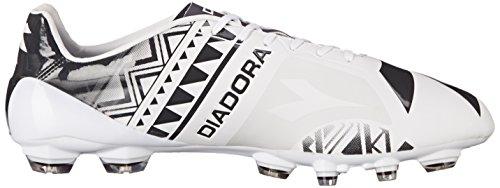 Diadora Mens Dd-na 3 Glx14 Fotboll Cleat Vit / Svart