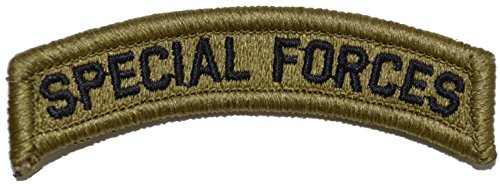 - U.S. Special Forces Tab Multicam OCP Scorpion Camo Hook Fastener Patch Made in USA