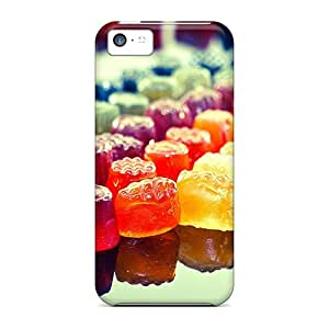 Evanhappy42 Apple Iphone 5c Shock-Absorbing Hard Phone Covers Support Personal Customs HD Candies Image [Rxq1580Rdhk]