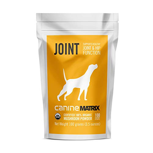 Canine Matrix Organic Mushroom Supplement For Dogs, Joint, 100 Gm (Packaging May Vary)