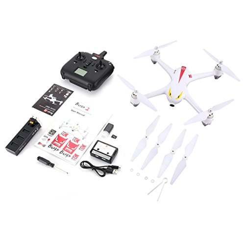 Ballylelly MJX B2C 2.4G 4CH Altitude Hold Drone Retour Automatique GPS RC Quadcopter avec GPS Automatique e8d5a0