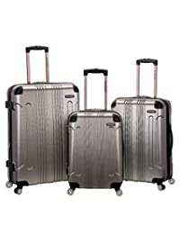 ROCKLAND F190-SILVER 3 Piece Sonic Abs Upright Set, Silver, One Size