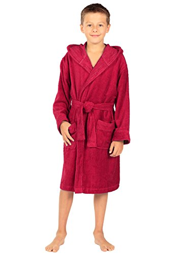 TexereSilk Texere Hooded Terry Bathrobe product image