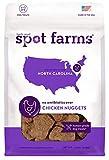 Spot Farms All Natural Human Grade Dog Treats, Chicken Nuggets, 12 Ounce