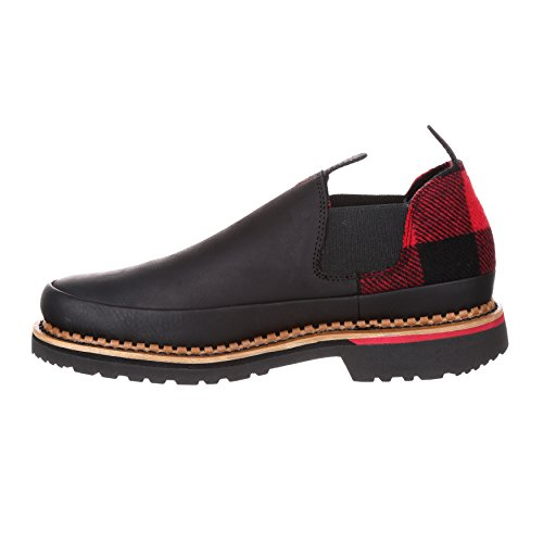 Georgien Boot Mens Jätte Buffalo Check Pendleton Romeo Sko-gb00207