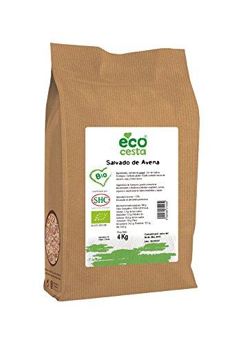 Ecocesta- Salvado de avena bio, 4 kg .: Amazon.es: Alimentación y bebidas