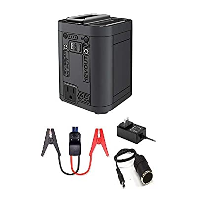 Regetek Portable Power Station, 26800mAh Lithium Battery Backup Power Supply for Car Charging Outdoors Camping Fishing Emergency