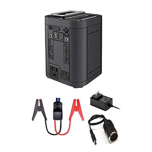 Regetek Portable Power Station, 26800mAh Lithium Battery Backup Power Supply for Car Charging Outdoors Camping Fishing Emergency