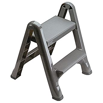 Superb Rubbermaid Commercial Products Fg420903 Two Step Folding Stepstool 300 Pound Load Capacity 22 7 8 Inches X 21 Depth X 18 7 8 Inches Caraccident5 Cool Chair Designs And Ideas Caraccident5Info