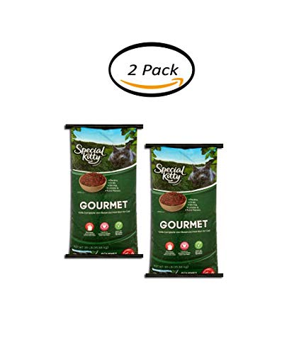 PACK OF 2 - Special Kitty Gourmet Formula Dry Cat Food, 35 Lb