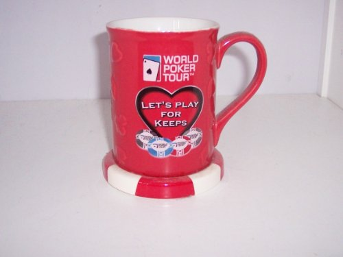(World Poker Tour - Let's Play For Keeps Las Vegas 2006 Collectible Beverage Coffee Mug Beer Stein)