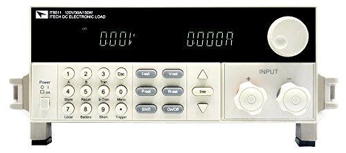 AideTek ITECH IT8511 DC Programmable Electronic Load 120V 30A 150W 1mV 0.1mA Battery Tester Load