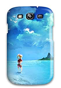 Premium Protection Video Games Chrono Cross Square Enix Beaches Case Cover For Galaxy S3- Retail Packaging