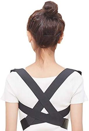 猫背矯正ベルト 脱着簡単 調節可能 アンチバンプ補正ベルト、背中の痛みを和らげるために、成人学生のための目に見えない姿勢矯正ベルト(サイズ:M) 日常 便利 防具 肩こり解消 巻き肩 美姿勢 補正サポーター 子供 大人 男女兼用