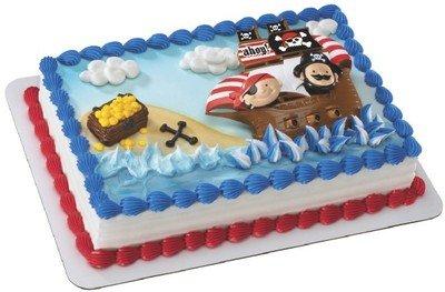 Amazon.com: Little Pirates Themed Birthday Cake Kit: Toys & Games
