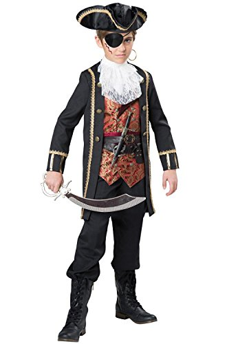 Fun World InCharacter Costumes Captain Scurvy Costume