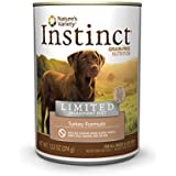 Nature's Variety Instinct Limited Ingredient Diet Grain-Free Turkey Formula Canned Dog Food, 13.2 oz. Cans (Case of 12)