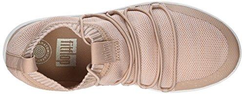 Fitflop Ghillie a Uberknit Multicolour Alto Slip Urban Sneakers Neon Sneaker Donna White Blush Collo on rqYrdBxntR