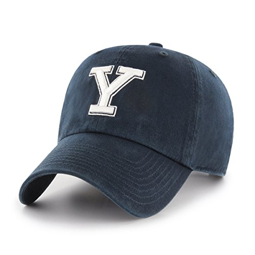 Baseball Yale University (OTS NCAA Yale Bulldogs Women's Challenger Clean Up Adjustable Hatvy)