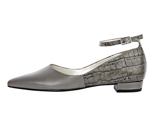 Patrizia Dini Women's Ballerina Shoes Grey Grey - Taupe pvOji