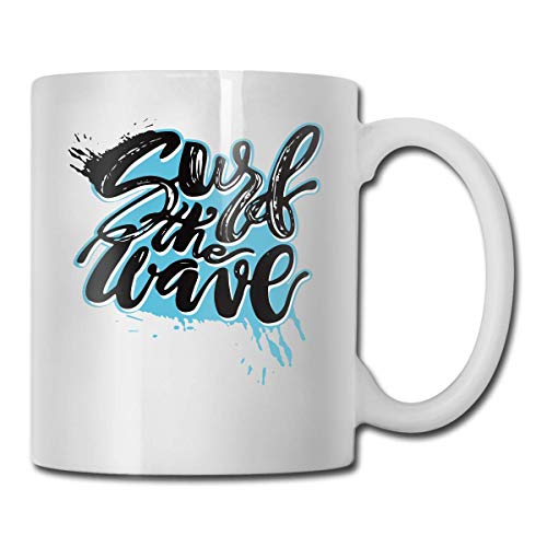 (T-Rex Hates Jump Rope Custom Coffee Mugs / 11oz Ceramic Tea Cup - Novelty Gift)