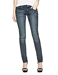 GUESS Factory Women's Sarah Skinny Jeans in Dark Wash