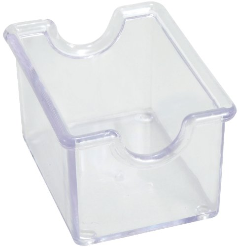 Winco 12-Piece Clear Sugar Packet (Sugar Caddy Packet Holder)