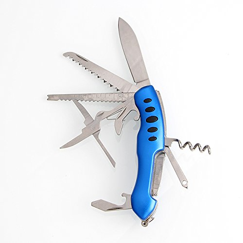 Dynamic Folding Pocket Multitool Knife Swiss Army Style Outdoor 11 Function by Dometopia (Image #5)