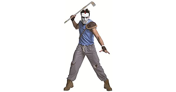 Amazon.com: Disfraz de Casey Jones adulto Teenage Mutant ...