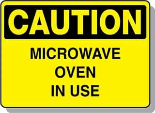 Beaed - Caution Microwave Oven In Use - 100-0022-51AL10