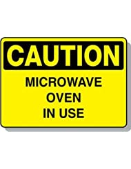Beaed - Caution Microwave Oven In Use - 100-0022-51AL14