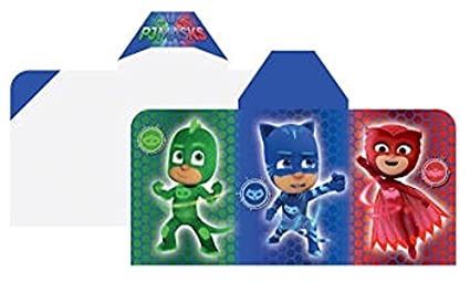 PJ Masks Cotton Hooded Towel: Bath, Pool, Beach