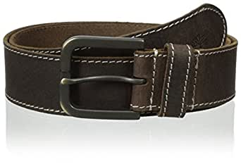 Timberland Men's 40Mm Oily Milled Belt, Brown, 32