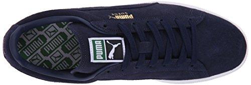Men Puma Sneakers Classic peacoat Blau Basses 52 for white Peacoat Suede Noir Mixte Adulte rrwq8P5E